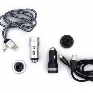 Feitun Autós Töltő Szellőzőrácsra Rögzíthető Univerzális Mágneses Tartóval Micro USB