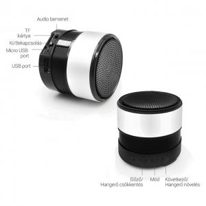 Vezeték nélküli Bluetooth Hangszóró Kihangosító T2