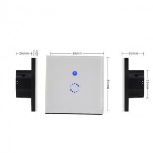 Sonoff Touch Wifi Csatlakozással Okostelefonról Vezérelhető Érintős Kapcsoló