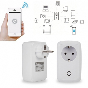 WIFI okos konnektor időzítővel iphone android