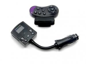 Autós mp3 Lejátszó FM Transmitter kormányról vezérelhető