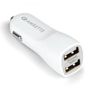 Dupla USB autós  töltő adapter