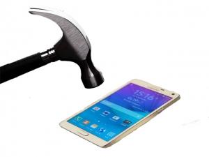 Samsung Galaxy Note 4 törésálló kijelzővédő üvegfólia Glass 0.26 mm 9H