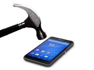Sony E4G törésálló kijelzővédő üvegfólia Glass 0.26 mm 9H