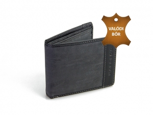Férfi bőr pénztárca MG09