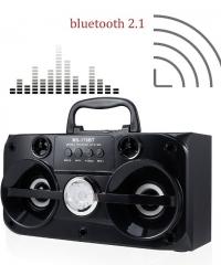 Bluetooth hordozható multimédia lejátszó MP3 USB FM rádió TF MS-180BT