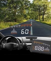 Szélvédőre Vetítő Autós Fedélzeti Computer OBDII HUD Head Up Display
