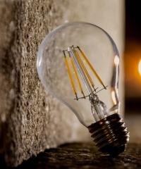 Dekor Edison LED Izzó 4W E27