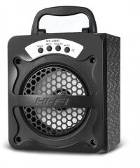 Bluetooth hordozható multimédia lejátszó MP3 USB FM rádió TF MS-130BT