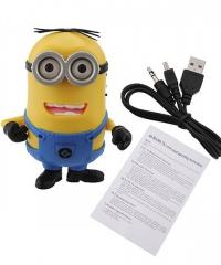 GRU 2 mini hordozható hangszóró Micro SD USB