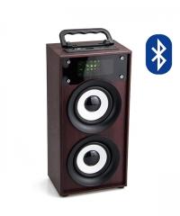 Bluetooth hordozható multimédia lejátszó 2x5W MP3 USB FM rádió TF több színben
