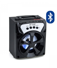 Bluetooth hordozható multimédia lejátszó MP3 USB FM rádió TF MS-310BT