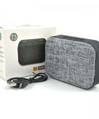 T3 Bluetooth mini MP3 lejátszó USB FM rádió TF
