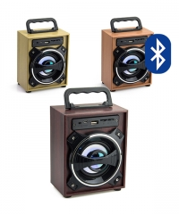 Bluetooth hordozható mini multimédia lejátszó MP3 USB FM rádió TF több színben