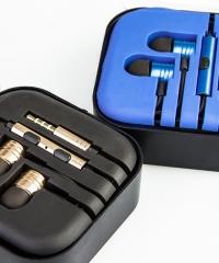 Fülhallgató Headset In Ear Hallójárati több színben