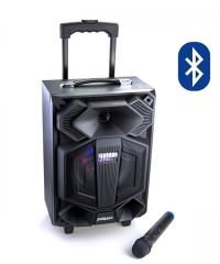 Hordozható Karaoke hangfal szett vezeték nélküli mikrofonnal GT-808