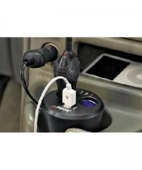 Autós szivargyújtó elosztó és USB töltő