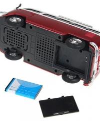 Autó alakú (T1 model) rádió MP3 lejátszó hangszóró