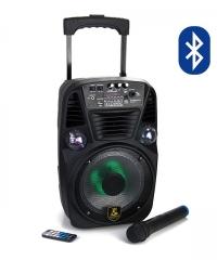 Hordozható Karaoke hangfal szett vezeték nélküli mikrofonnal V15
