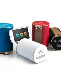 Vezeték nélküli bluetooth hangszóró és telefontartó HF-Q9