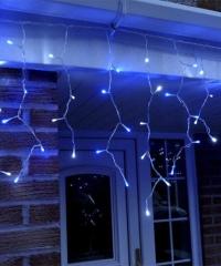 Jégcsap 180 LED Fényfüzér Kék 5m