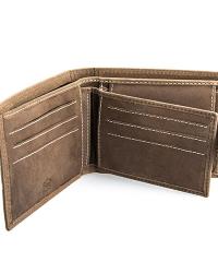 Férfi bőr pénztárca MG16