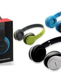 Bluetooth Fejhallgató Headset MP3 lejátszó P47