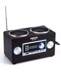 Asztali hangszóró FM rádió SD USB retro dizájn ST-185